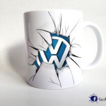 Volkswagen – törött logós bögre
