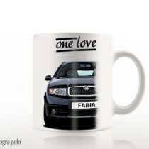Skoda Fabia – one love bögre