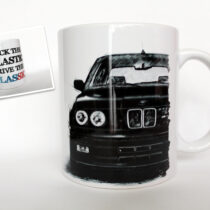 BMW E30 – F**k the plastic, Drive the classic bögre