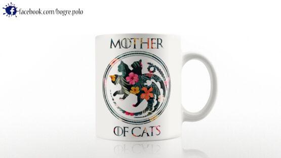 Game of Thrones Mother of Cats bögre