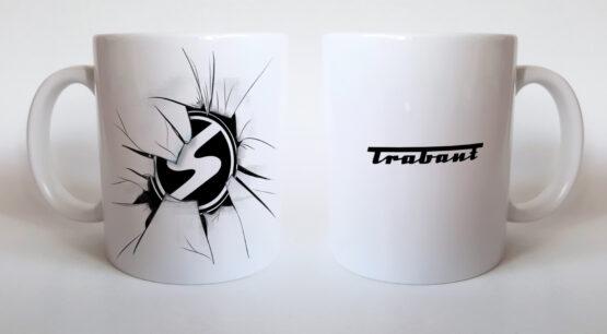 Trabant – törött logós bögre
